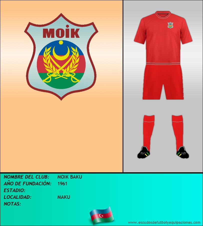 Escudo de MOIK BAKU