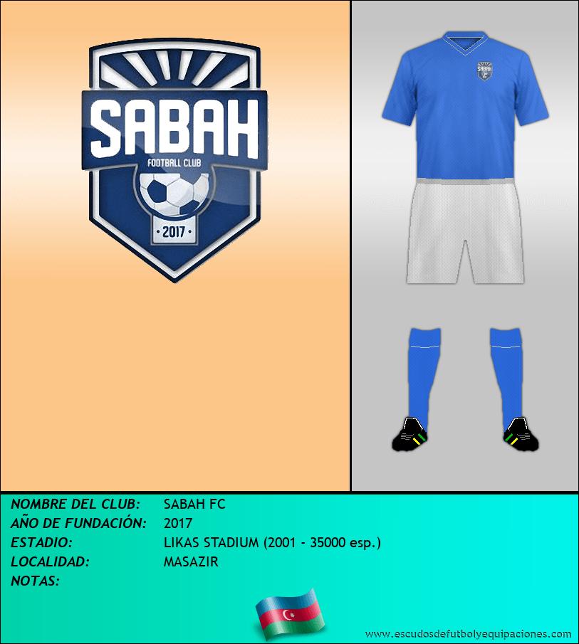 Escudo de SABAH FC