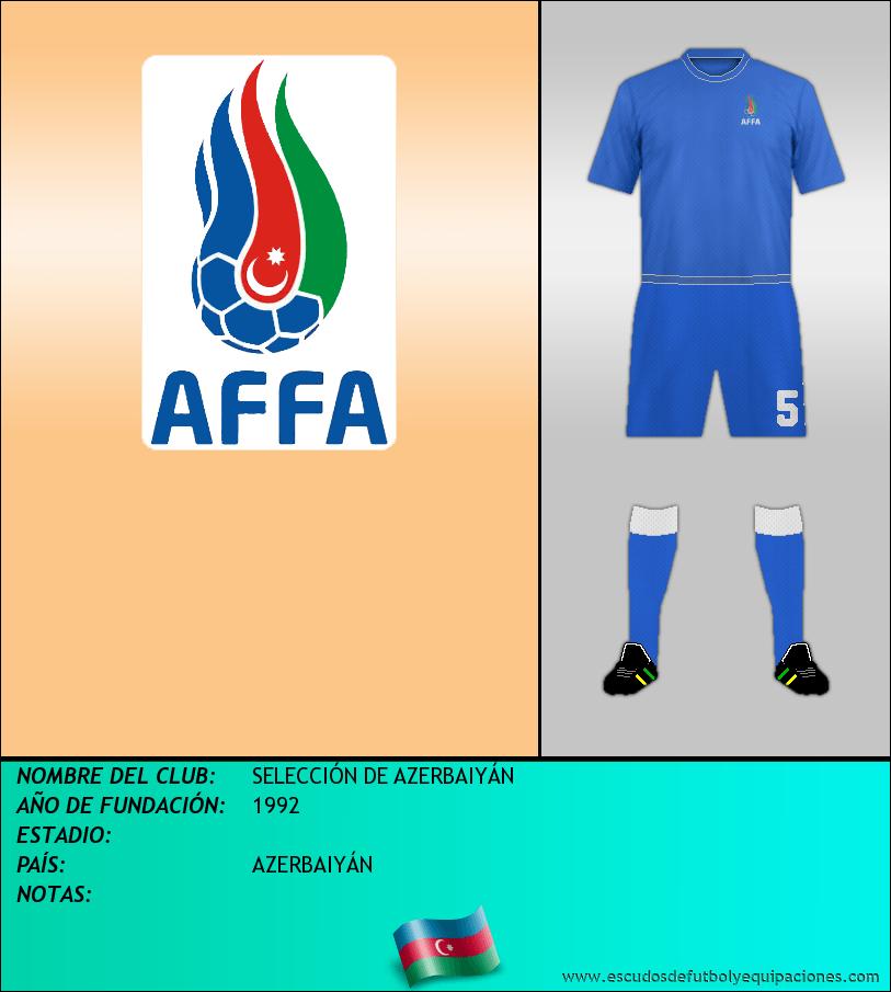 Escudo de SELECCIÓN DE AZERBAIYÁN