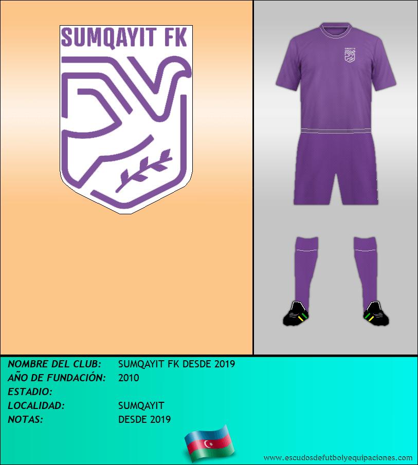 Escudo de SUMQAYIT FK DESDE 2019