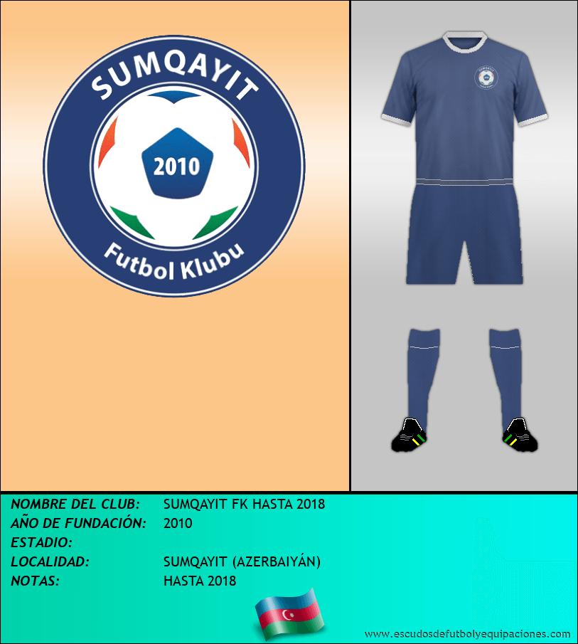 Escudo de SUMQAYIT FK HASTA 2018