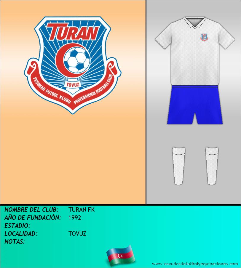 Escudo de TURAN FK
