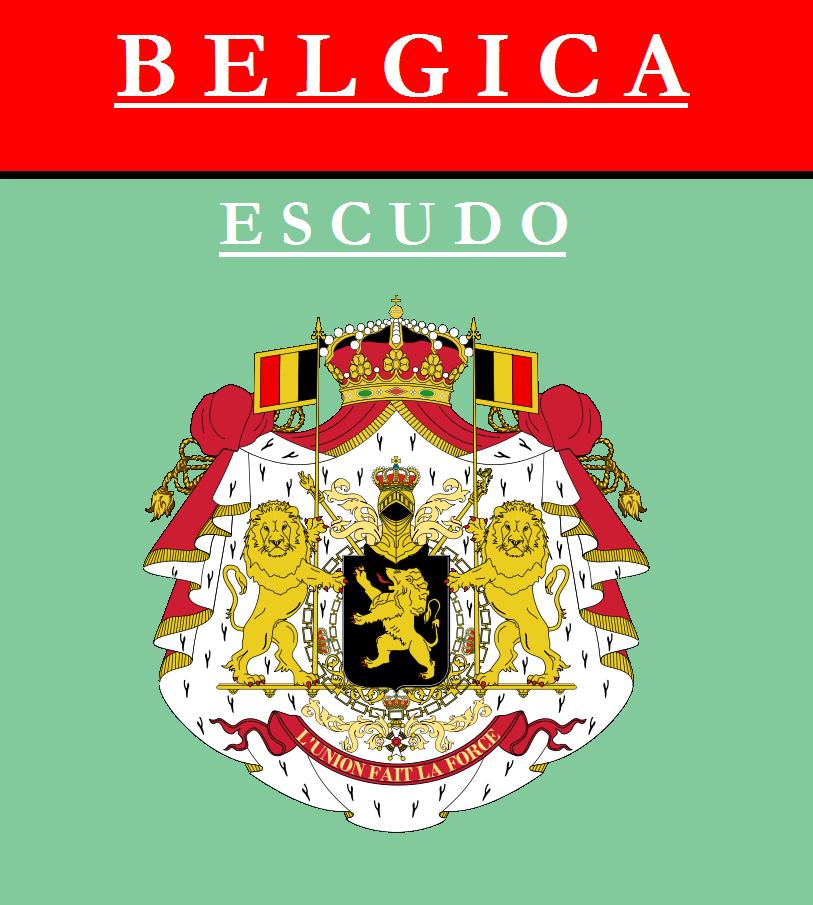 Escudo de ESCUDO DE BÉLGICA