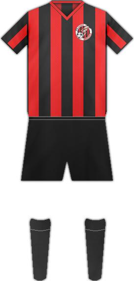 Equipación F.C. MOLENBEEK BRUSSELS