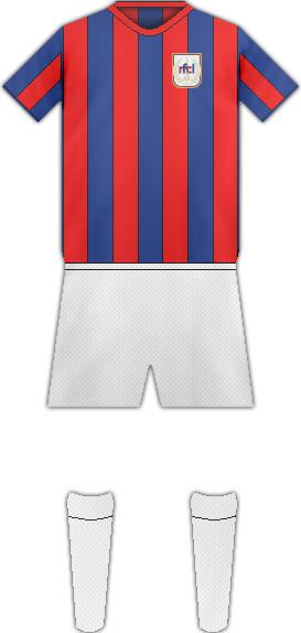 Equipación ROYAL F.C. LIEJA