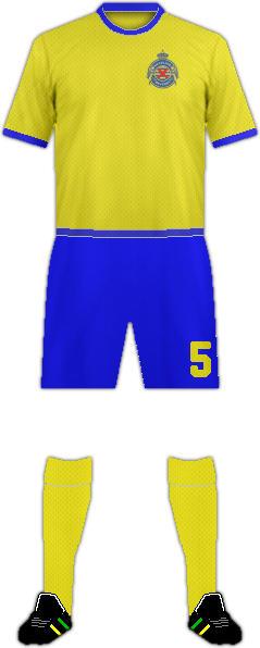 Equipación WAASLAND FC