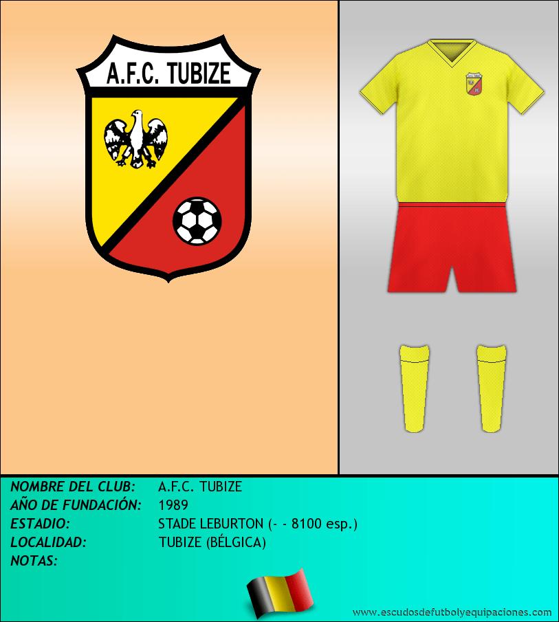 Escudo de A.F.C. TUBIZE