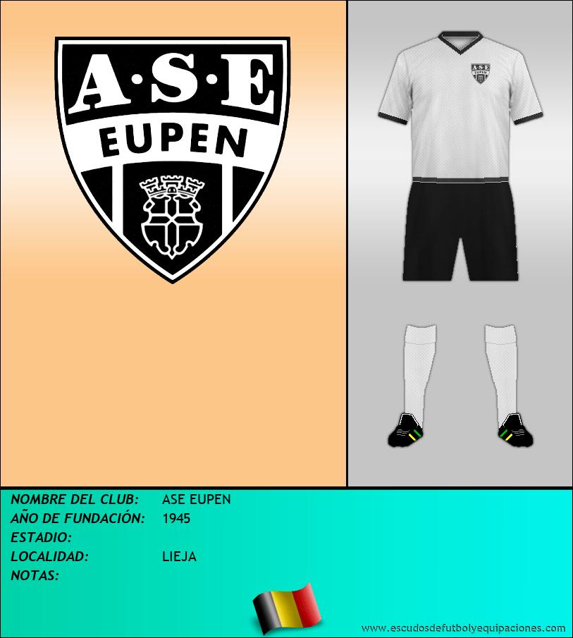 Escudo de ASE EUPEN