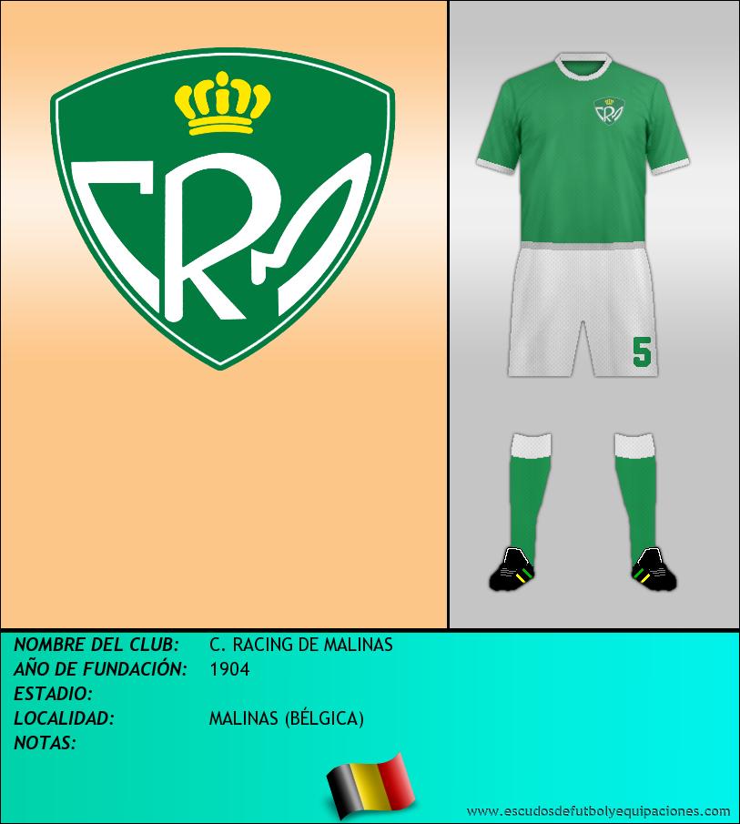 Escudo de C. RACING DE MALINAS