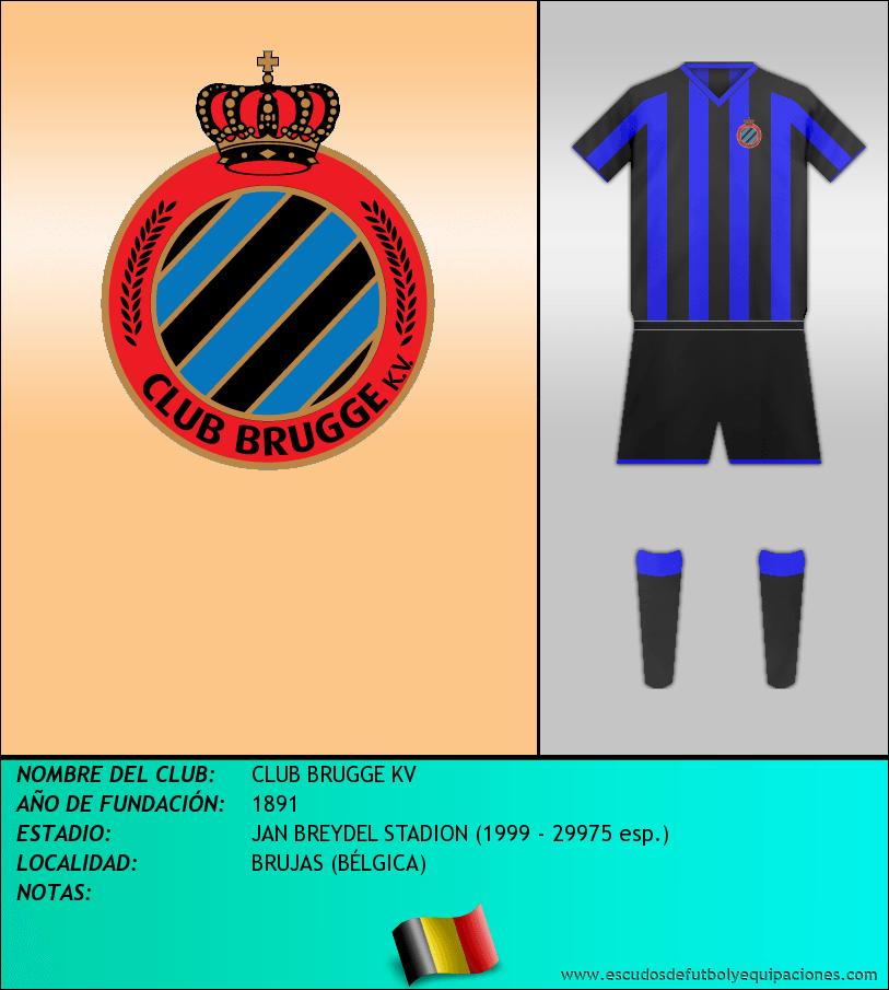 Escudo de CLUB BRUGGE KV