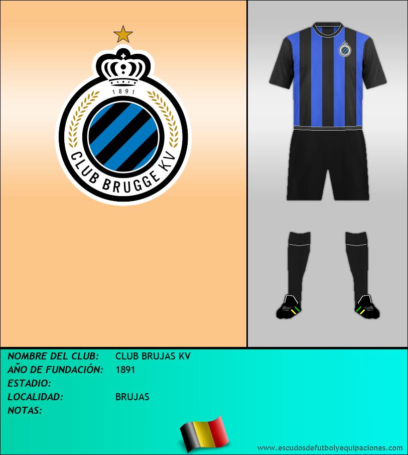 Escudo de CLUB BRUJAS KV