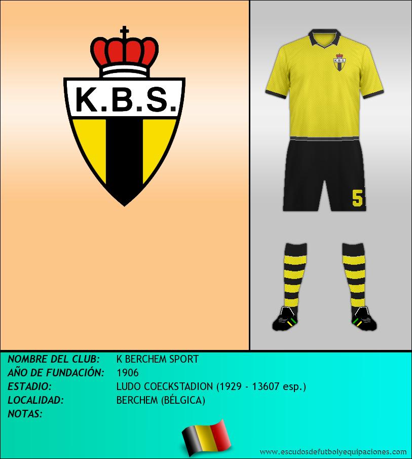 Escudo de K BERCHEM SPORT