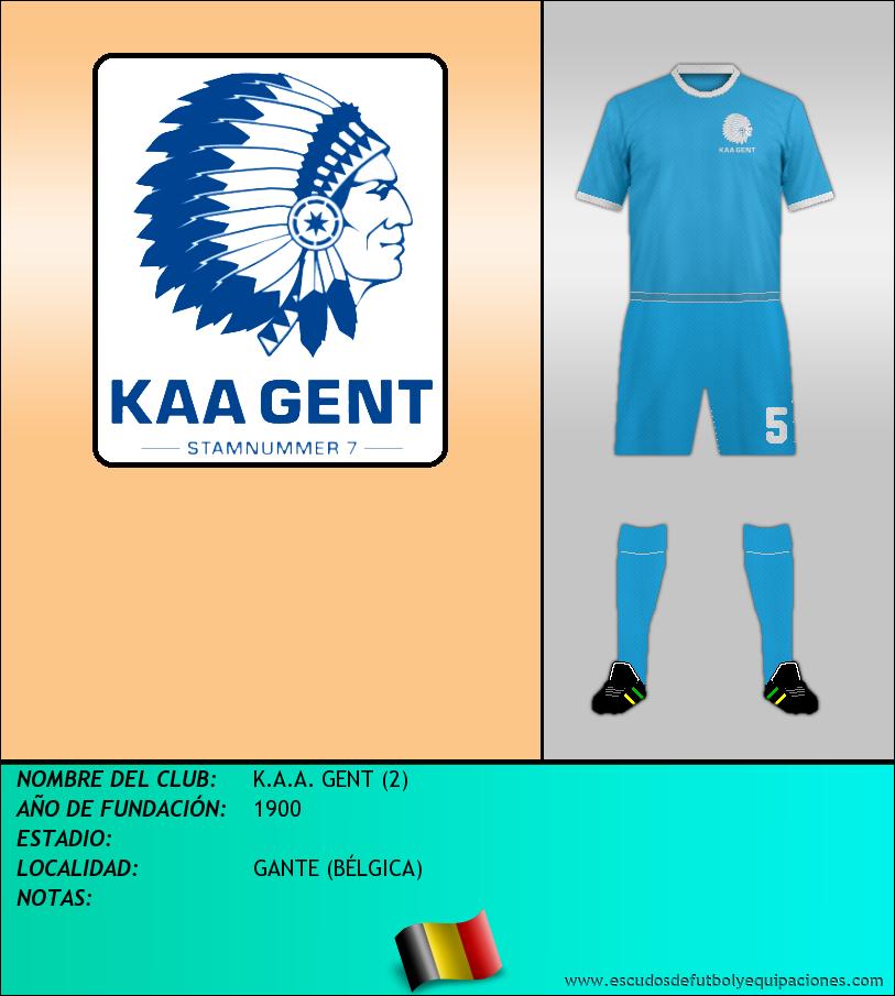 Escudo de K.A.A. GENT (2)
