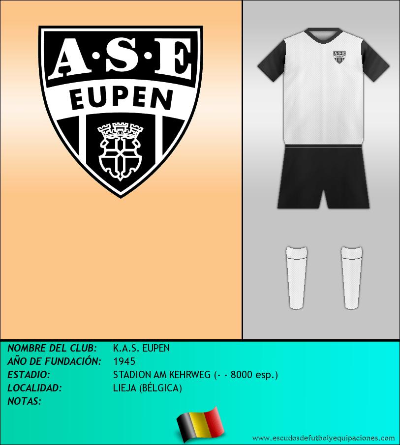 Escudo de K.A.S. EUPEN