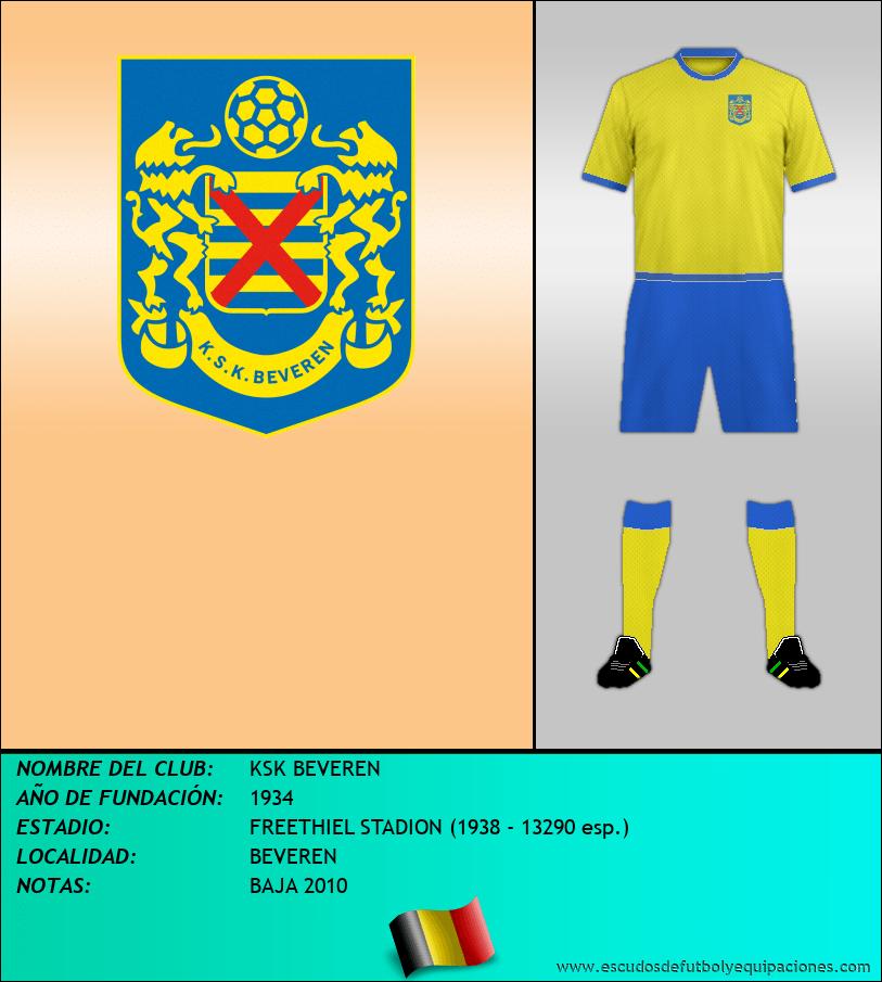 Escudo de KSK BEVEREN