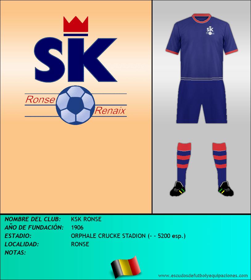 Escudo de KSK RONSE