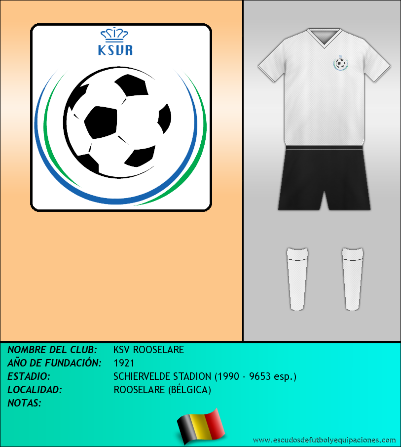 Escudo de KSV ROOSELARE