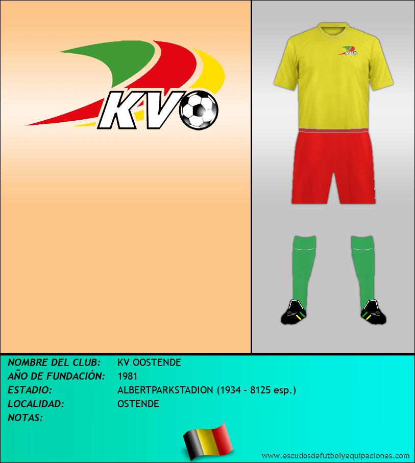Escudo de KV OOSTENDE