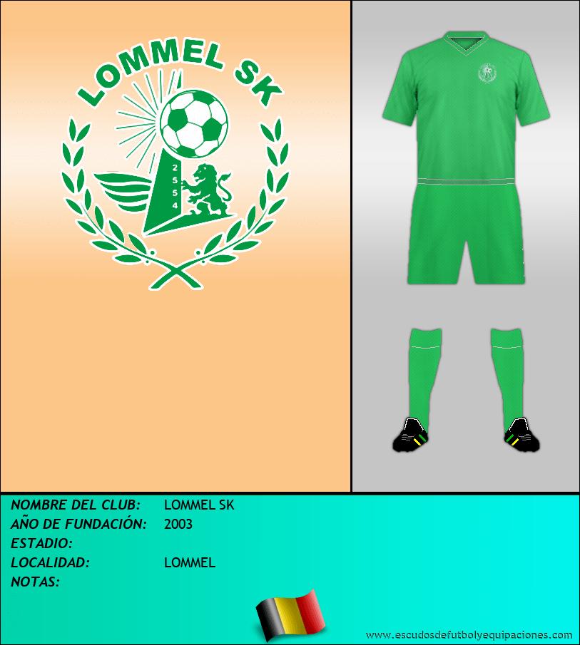 Escudo de LOMMEL SK