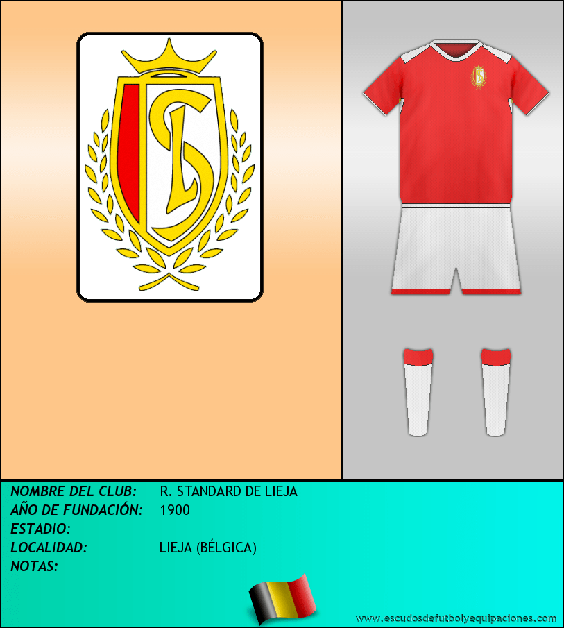 Escudo de R. STANDARD DE LIEJA