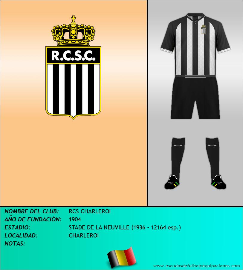 Escudo de RCS CHARLEROI