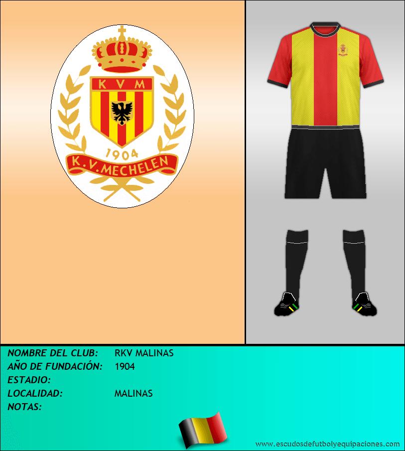 Escudo de RKV MALINAS