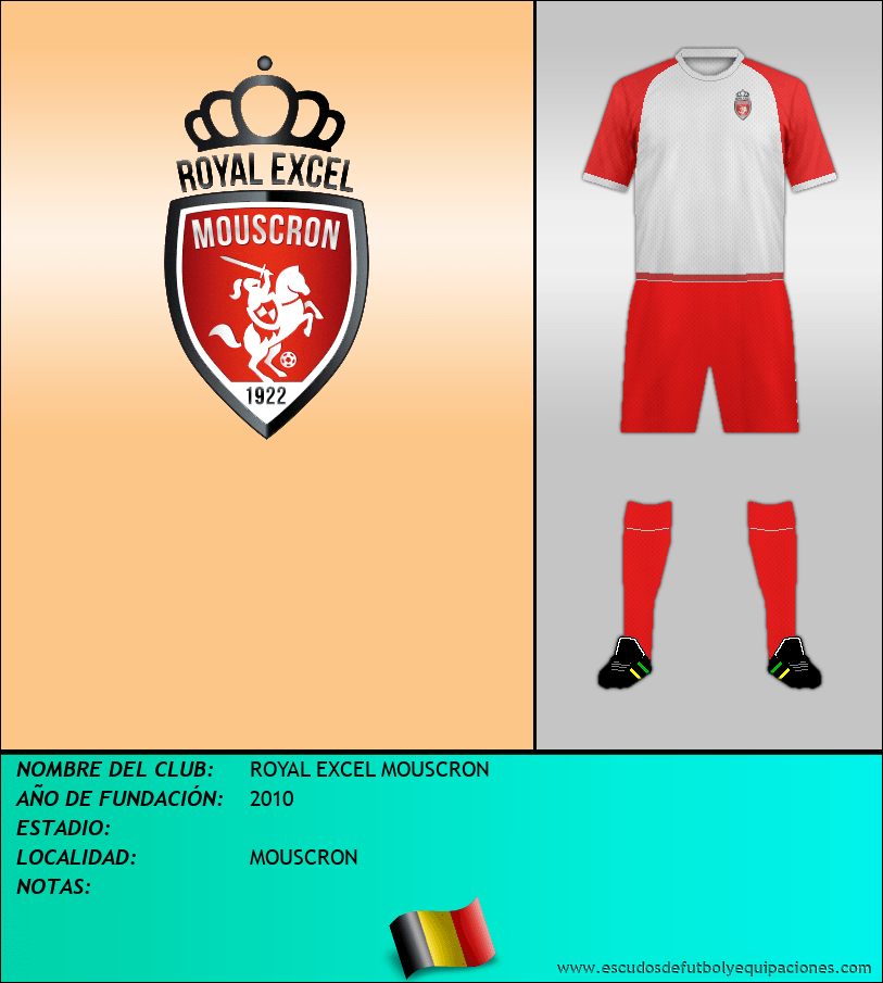 Escudo de ROYAL EXCEL MOUSCRON