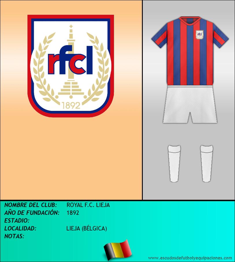 Escudo de ROYAL F.C. LIEJA