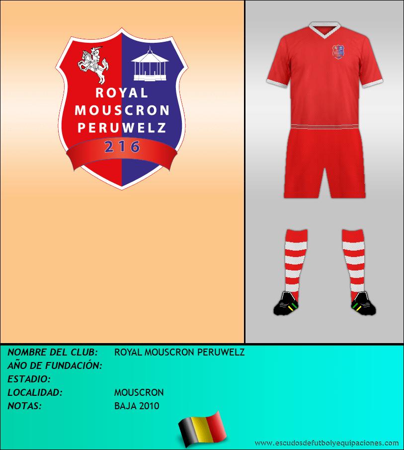 Escudo de ROYAL MOUSCRON PERUWELZ