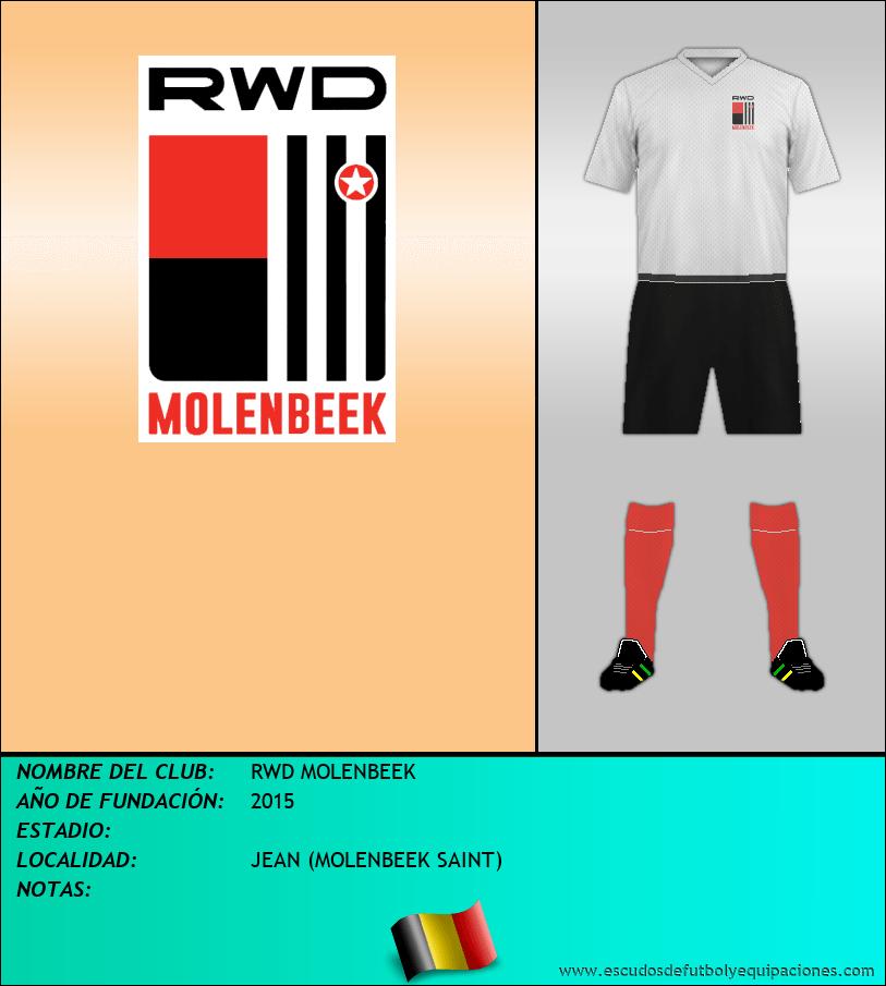 Escudo de RWD MOLENBEEK