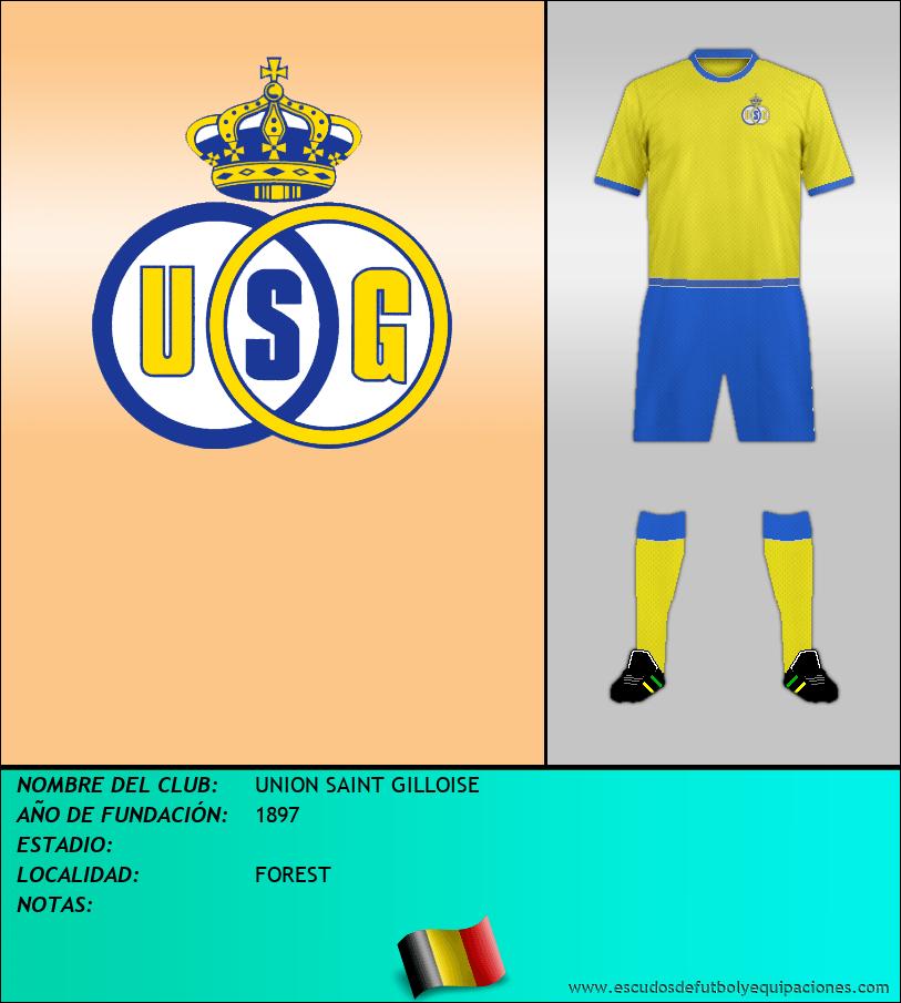 Escudo de UNION SAINT GILLOISE