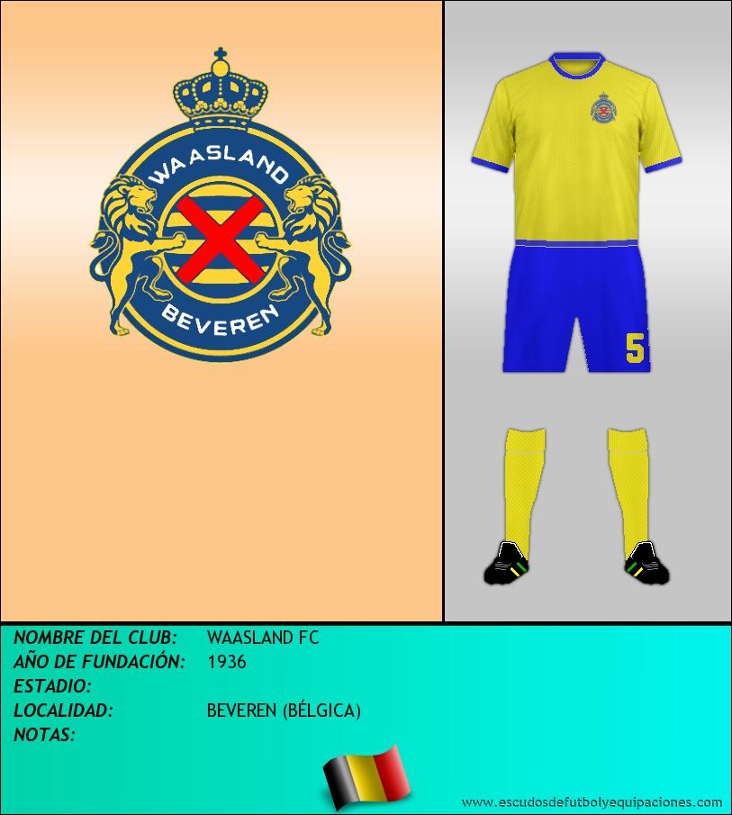 Escudo de WAASLAND FC