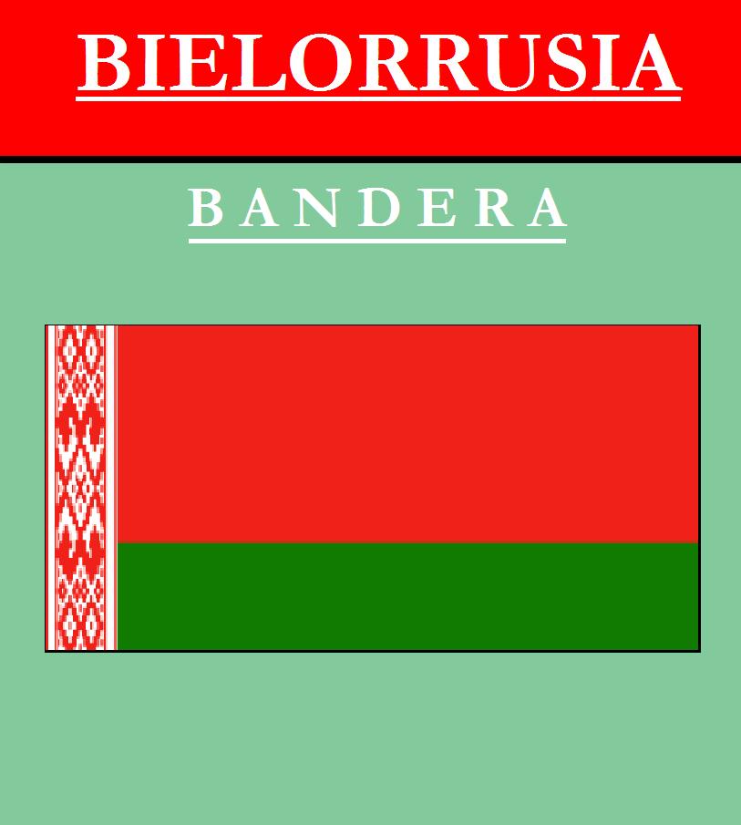 Escudo de BANDERA DE BIELORRUSIA