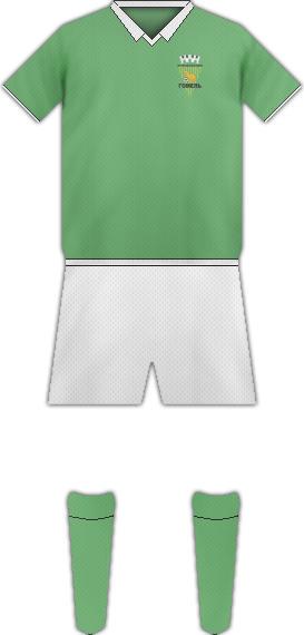 Equipación FC GOMEL