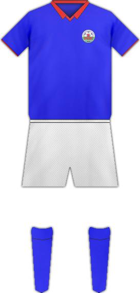 Equipación FC GRANIT