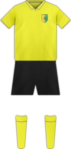 Equipación FC NEMAN