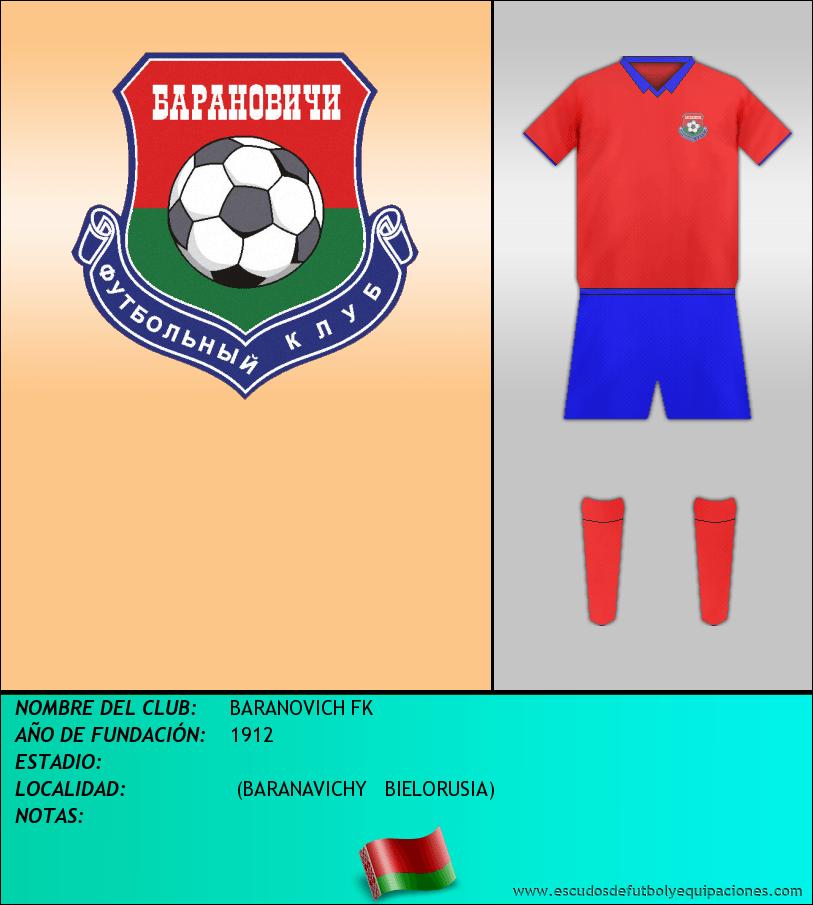 Escudo de BARANOVICH FK