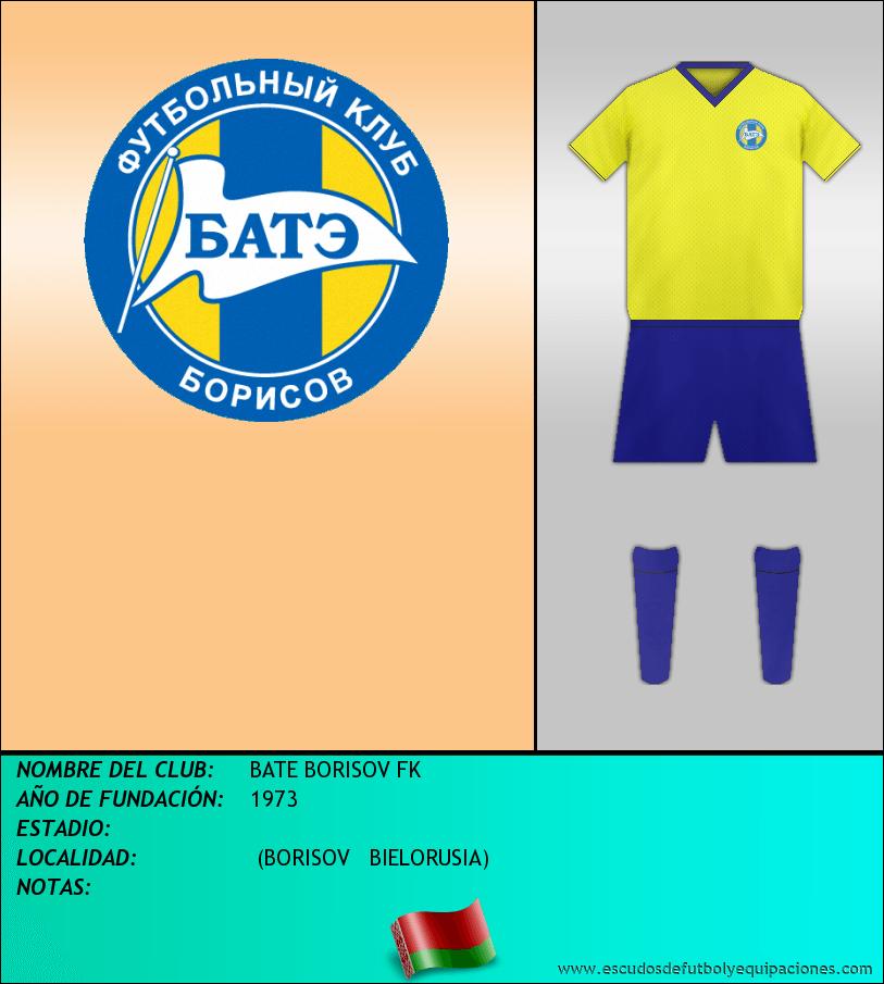 Escudo de BATE BORISOV FK