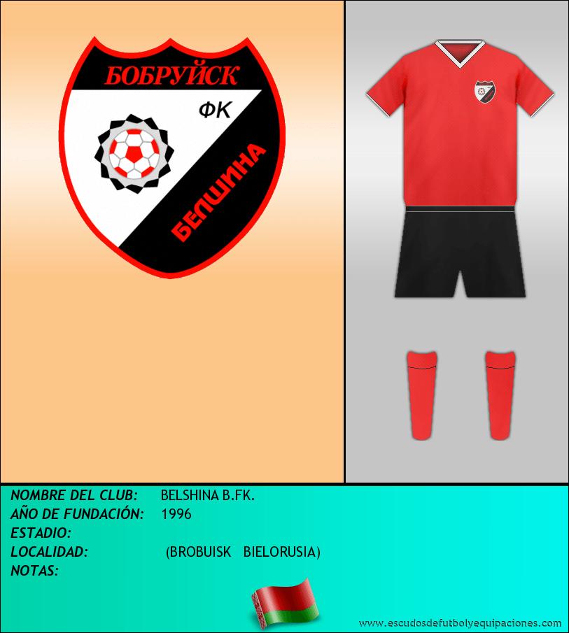 Escudo de BELSHINA B.FK.