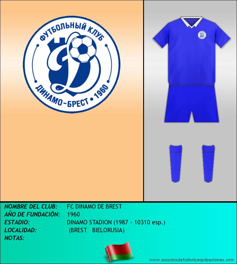 Escudo de FC DINAMO DE BREST