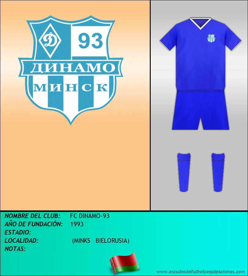 Escudo de FC DINAMO-93