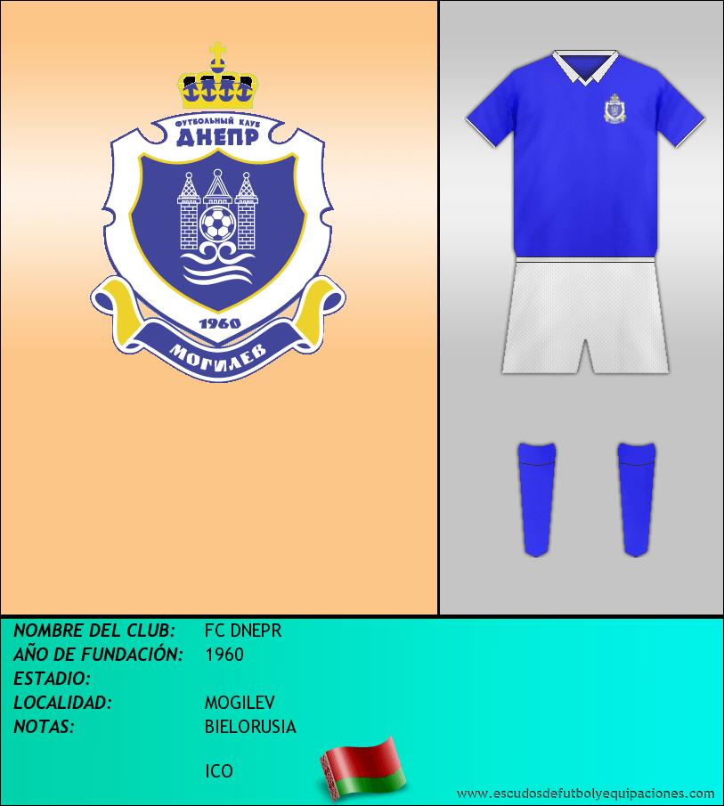 Escudo de FC DNEPR
