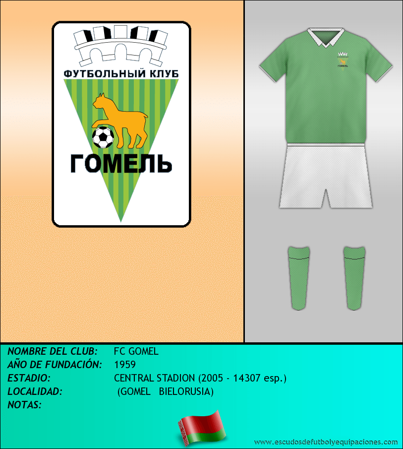 Escudo de FC GOMEL