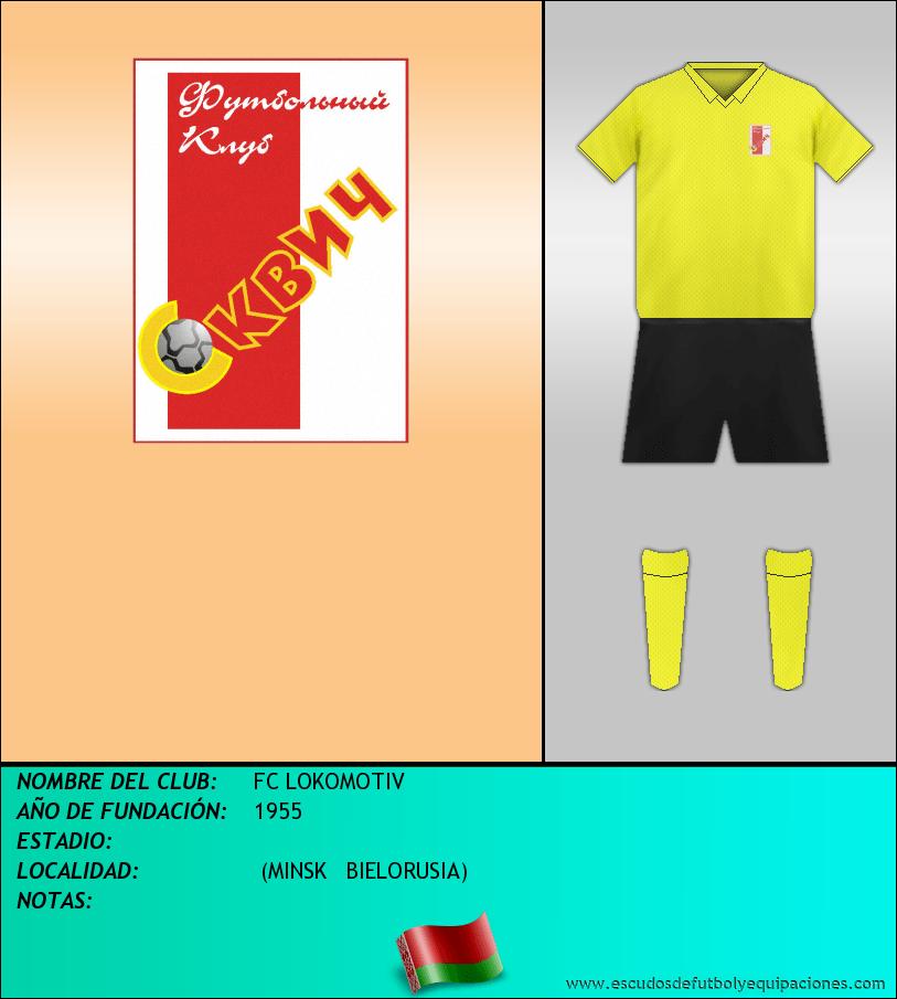 Escudo de FC LOKOMOTIV