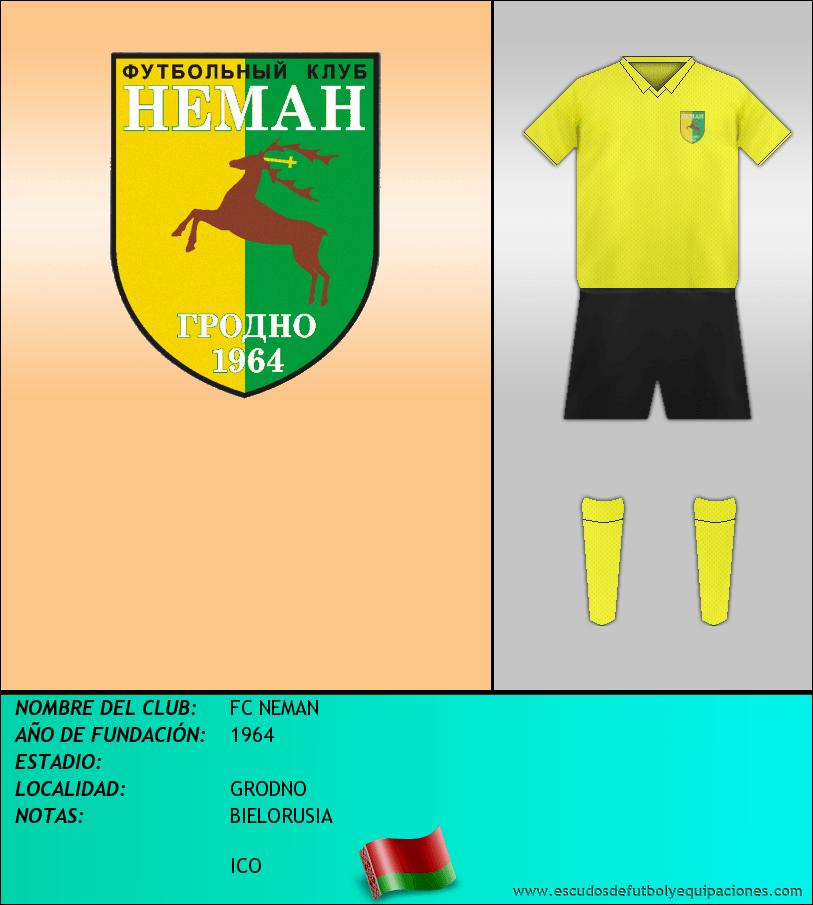Escudo de FC NEMAN