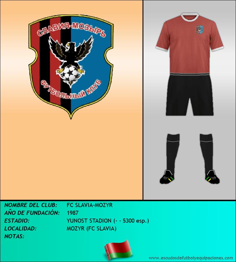 Escudo de FC SLAVIA-MOZYR