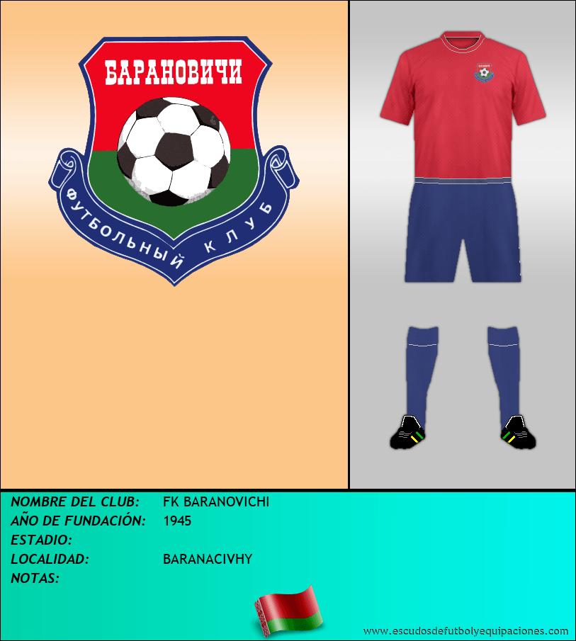 Escudo de FK BARANOVICHI