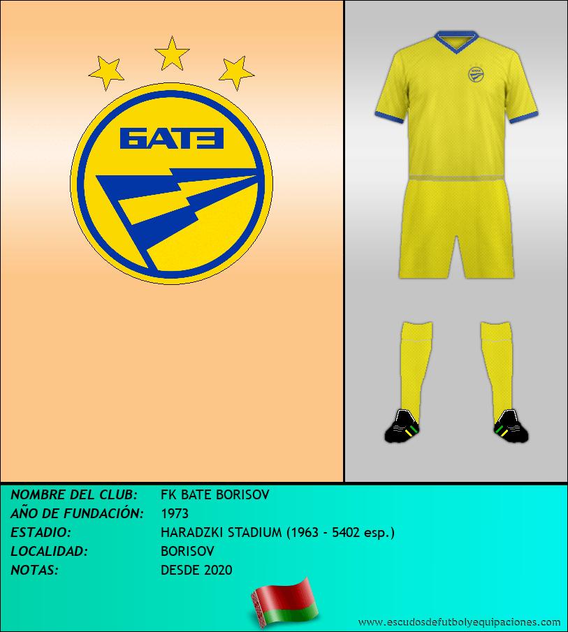 Escudo de FK BATE BORISOV