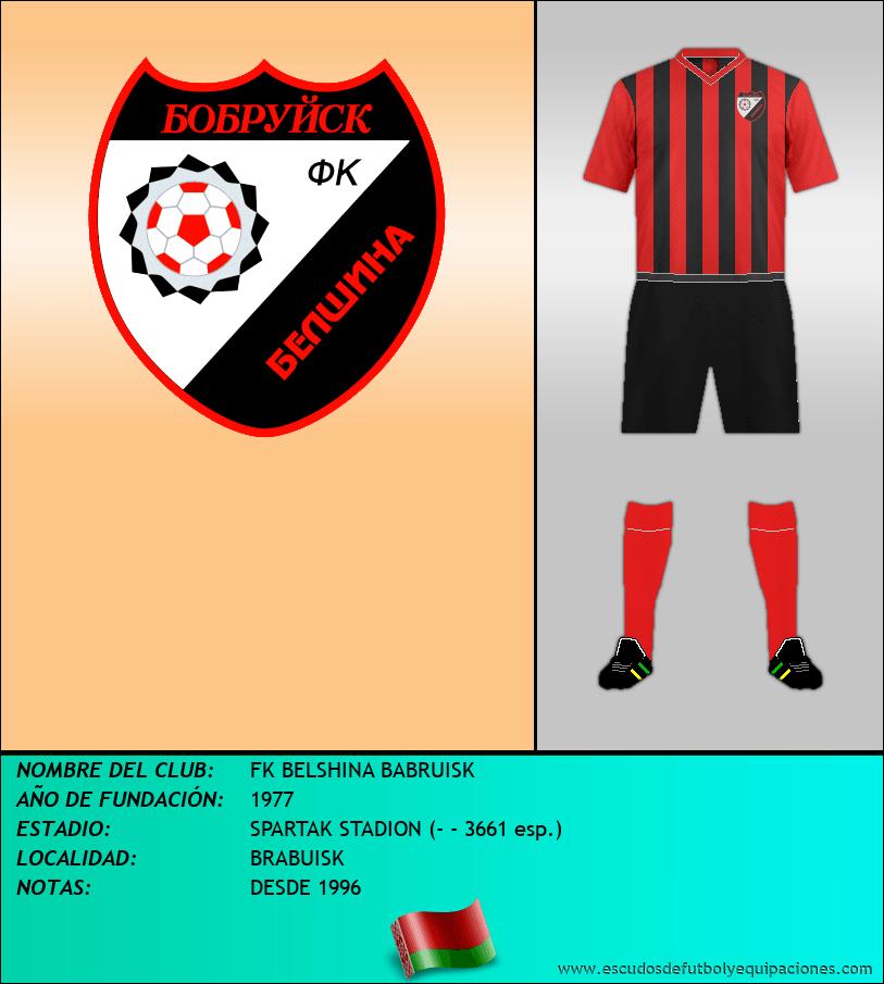 Escudo de FK BELSHINA BABRUISK
