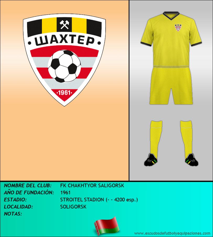 Escudo de FK CHAKHTYOR SALIGORSK